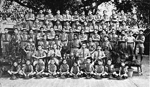 Armenians in India - Armenian boy scouts in Calcutta