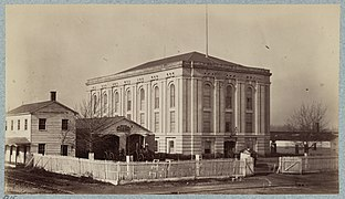 the armory as a hospital during the civil war