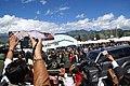 Arribo de Hugo Chávez a Cumbre Otavalo ALBA-TCP 2010 (4739132812).jpg