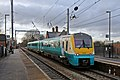 Arriva Trains Wales Class 175, 175105, Newton-Le-Willows railway station (geograph 3818406).jpg