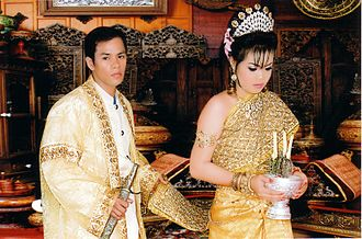 Khmer people - Khmer couple