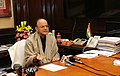 Arun Jaitley making a statement about the provision of Financial Resolution and Deposit Insurance (FRDI) Bill 2017, protecting the interests of depositors and removing any misgivings in that regard., in New Delhi.jpg