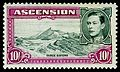Ascension 1944 10sh red violet Three Sisters.jpg