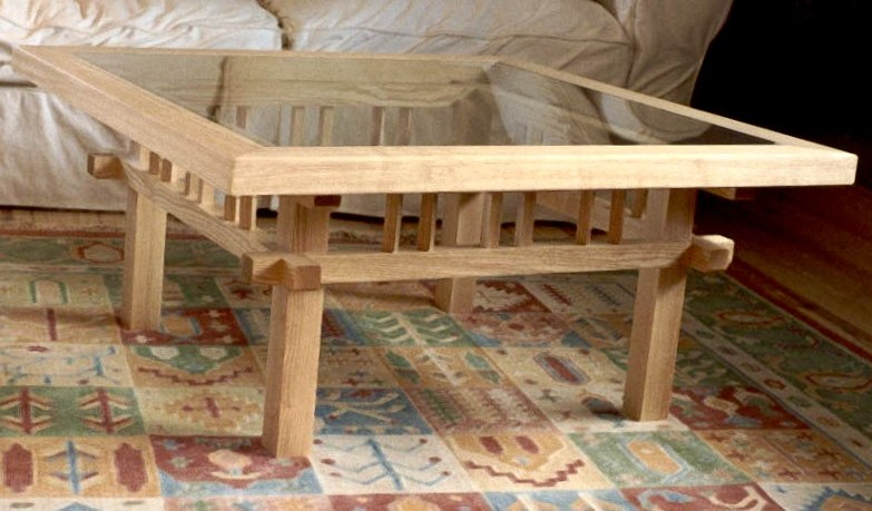 Ash Table by Ben Barclay