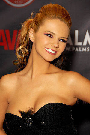 Ashlynn Brooke - Brooke at the AVN Awards Show at the Palms Casino Resort, Las Vegas, Nevada, January 2010