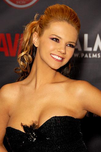 Ashlynn Brooke - Brooke at the AVN Awards Show at the Palms Casino Resort, Las Vegas, Nevada, January 2010