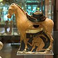 Askos, red figure, ithyphallic mule, Attic, 500 BC, AM Agrigento, 120915.jpg