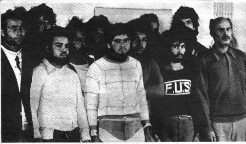 Assaillants Gafsa1980