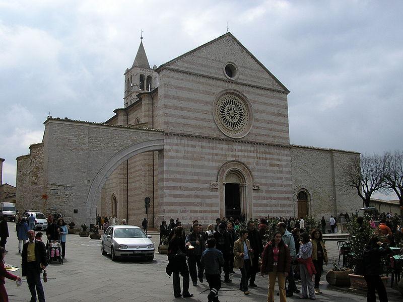 Igreja de Santa Clara em Assis