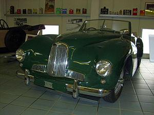 Aston Martin 2-Litre Sports - Image: Aston Martin 2 Litre 1950