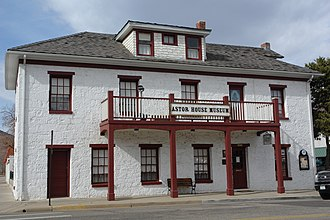 National Register of Historic Places listings in Jefferson County, Colorado - Image: Astor House Golden CO