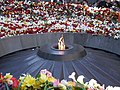 At tsitsernakaberd - commemorating 96th year anniversary of the Armenian Genocide.JPG