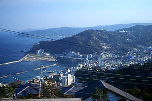 Tokyo File 212 - A key scene was filmed at an Atami resort