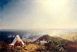 Attaque d Alger par la mer 29 Juin 1830 par Theodore Gudin.jpg