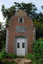 Attenrode - kapel van het kasteel (voorgevel)
