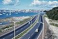 Auckland Northern Motorway near Harbour Bridge, May 1960.jpg