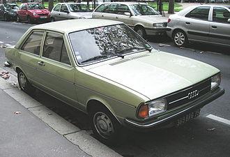 Audi 80 - Audi 80 (B1) facelift