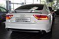Audi A7 Sportback 3.0 TDI quattro S tronic Ibisweiß Hinten.JPG
