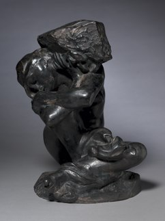 Auguste Rodin - Fallen Caryatid Carrying Her Stone - 1946.352 - Cleveland Museum of Art.tif