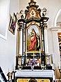 Autel et retable. Eglise de Saint-Cosme.jpg
