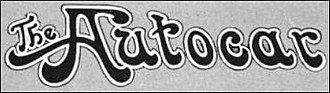 Autocar Company - Autocar logo 1912