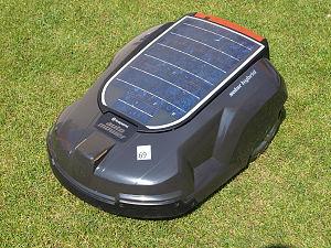 Robotic lawn mower - Image: Automower Solar Hybrid