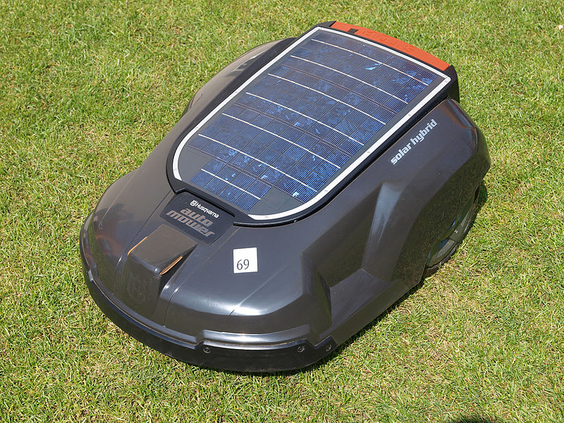 solar powered lawn mower Battery-powered lawn service is run by the sun carbon cutters owner steve popp uses solar power to charge electric lawn equipment.