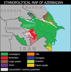 languages of azerbaijan wikipedia