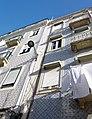 Azulejos, tiled facade, house front, Lisbon (49649713612).jpg