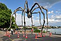 Bürkliplatz - Demontage 'Maman' 2011-07-28 18-04-20.jpg