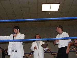 Bruderschaft des Kreuzes - (From left to right) BDK members Dieter VonSteigerwalt, Jakob Hammermeier and Derek Sabato.