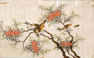Landscape with Birds (Oriental) (2172)