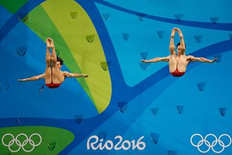 Cao Yuan - Cao Yuan and Qin Kai at the 2016 Olympics