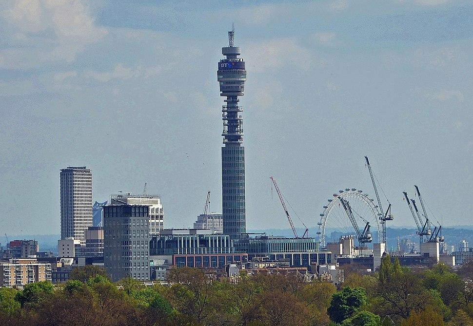 BT Tower, 2013