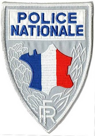 May 1968 events in France - Image: Badge Police Nationale