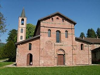 Tiglieto Abbey - Tiglieto Abbey church.