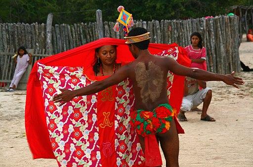 Baile de cortejo Wayuu