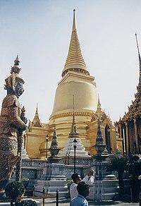 Zlatý Chedi v Bankoku