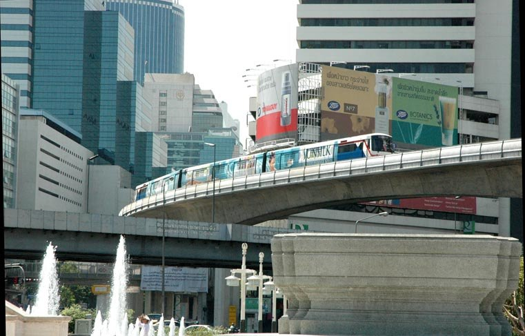 Bangkok Skytrain Saladaeng