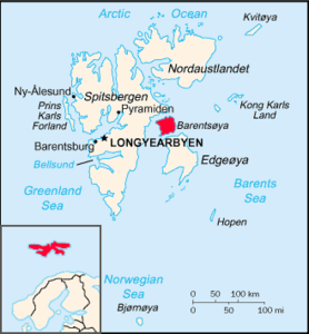 Location of Barentsøya