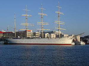 "Viking (barque) - Four-masted ""Barque Viking"" at Lilla Bommen, Gothenburg in 2005"