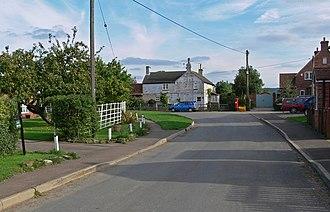 Barkestone-le-Vale - Image: Barkestone le Vale, Chapel Street geograph.org.uk 982377