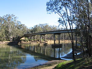 Barmah - Murray River crossing at Barmah