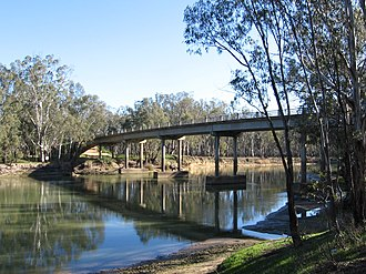 Barmah - Murray River crossing at Barmah