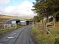 Barn in the Wye Valley near Sweet Lamb - geograph.org.uk - 925358.jpg