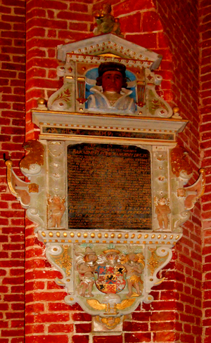Barnim VI, Duke of Pomerania - Image: Barnim VI Epitaph