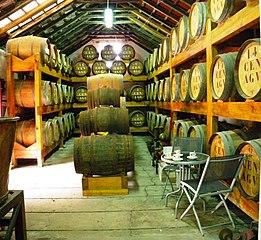 Beczki rumu