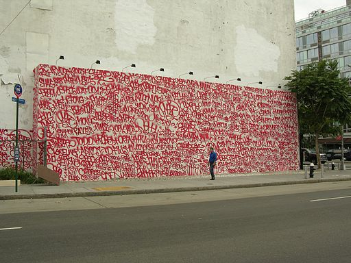 Barry McGee Mural on Houston and Bowery