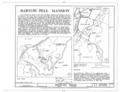 Bartow-Pell Mansion, Shore Road, Pelham Bay Park, Bronx, Bronx County, NY HABS NY,3-BRONX,6- (sheet 1 of 10).png