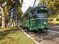 Basel tramway in Belgrade.JPG